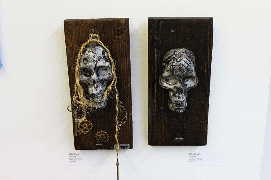 Untitled (key hanger)